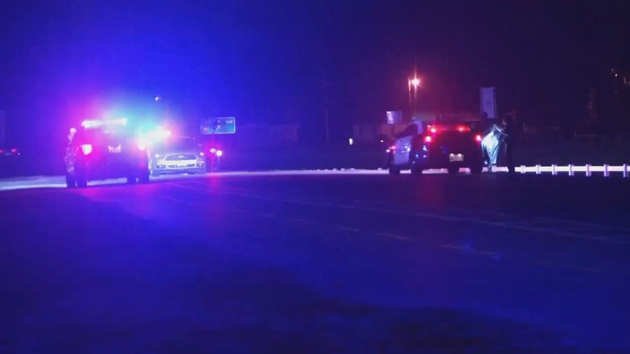 WEB EXTRA: Video From Scene Of Sand Springs Crash