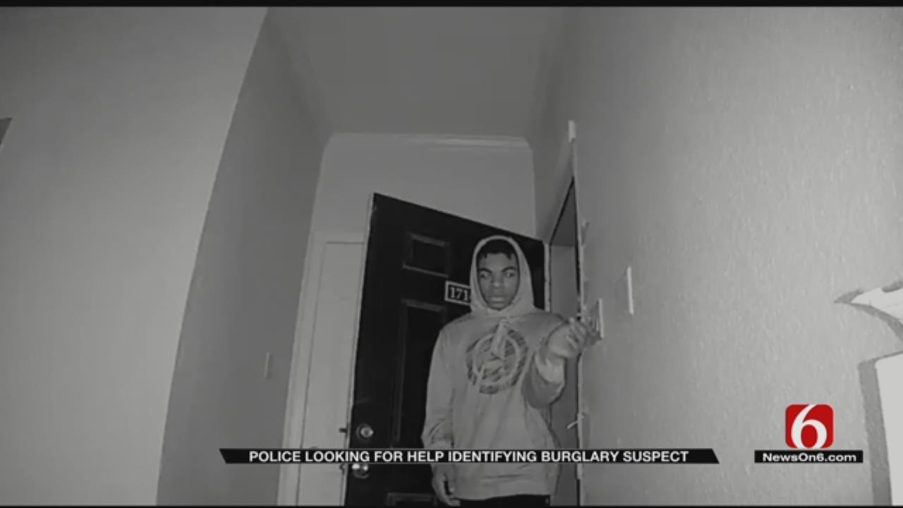 Tulsa Police Search For Burglary Suspect