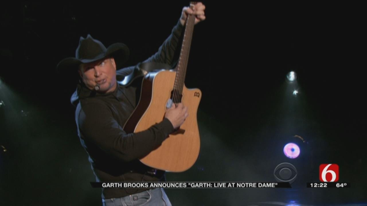 Garth Brooks Concert To Air As CBS Special
