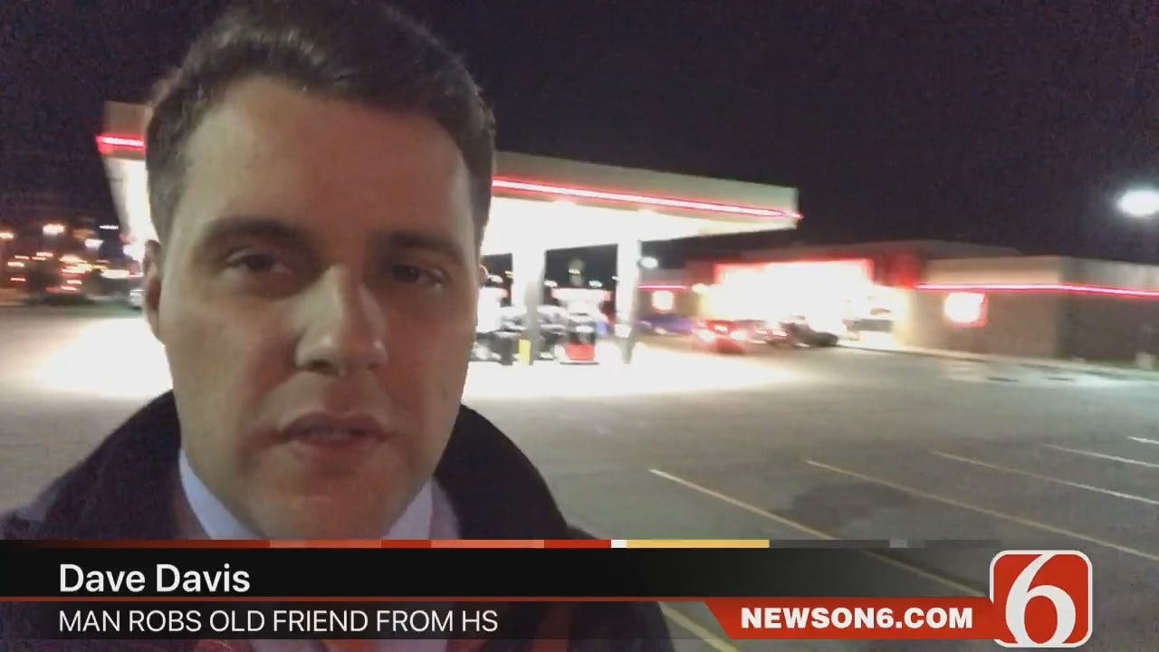 Dave Davis Reports Tulsa Man Runs Into Friend From High School, Who Then Steals His Car