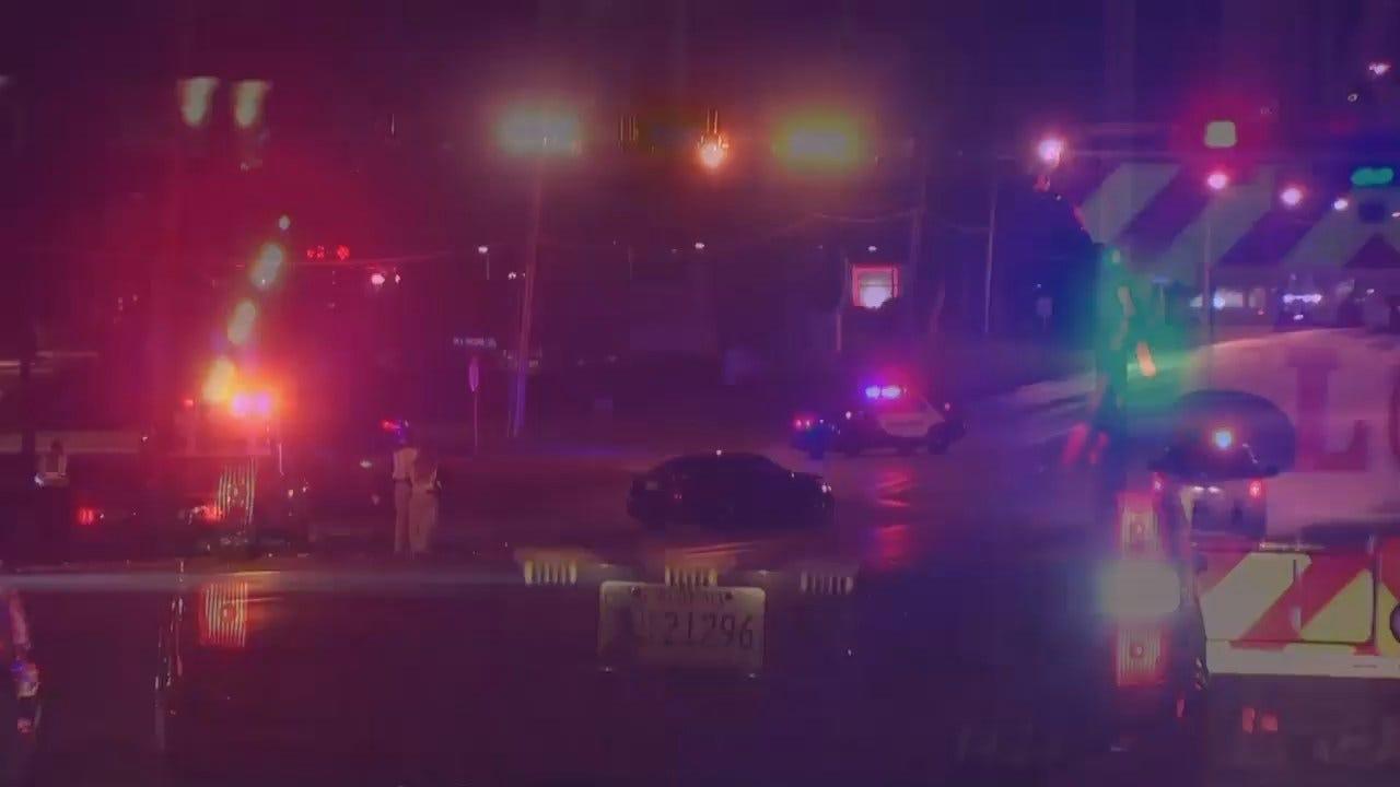 WEB EXTRA: Video From Scene Of Monday's Fatal Broken Arrow Crash