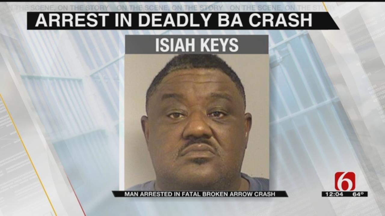 Man Arrested For DUI, Manslaughter In Fatal Ba Crash
