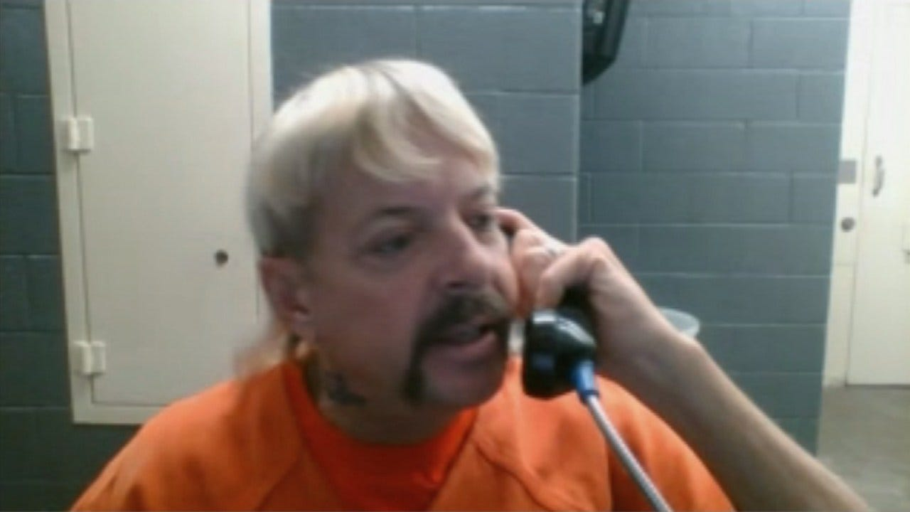 "Jailhouse Interview With Former Gubernatorial Candidate Joe ""Exotic"" Maldonado"