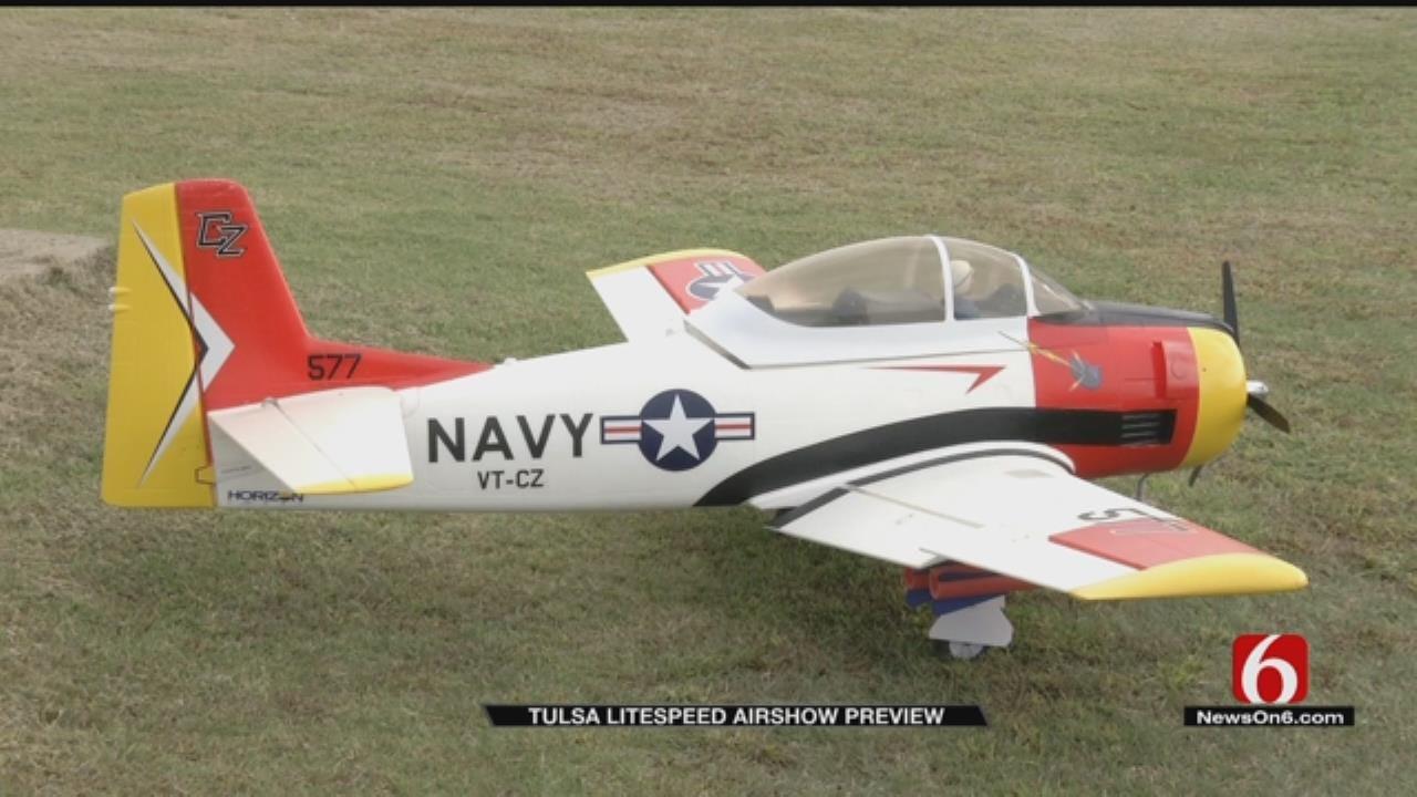 Styrofoam Planes Take Flight At Tulsa Airshow