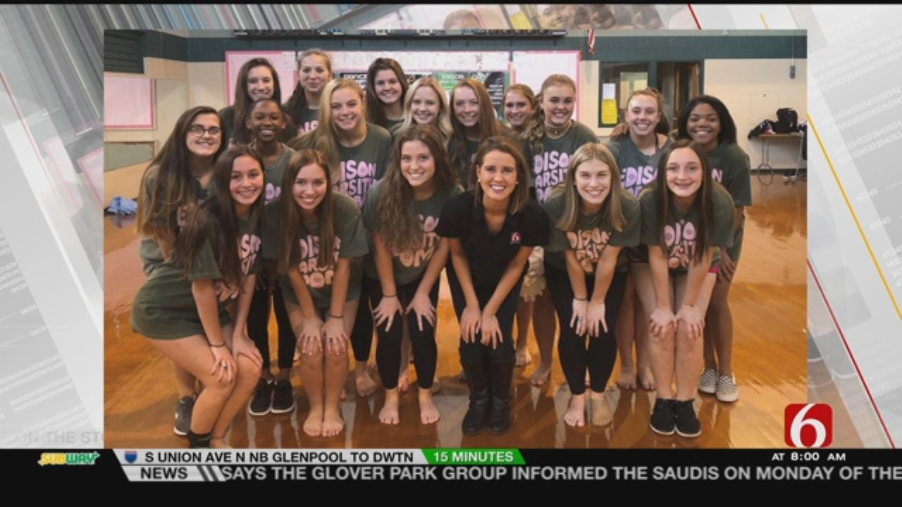 Pom Squad Wants To Meet Paula Abdul During Her Visit To Tulsa