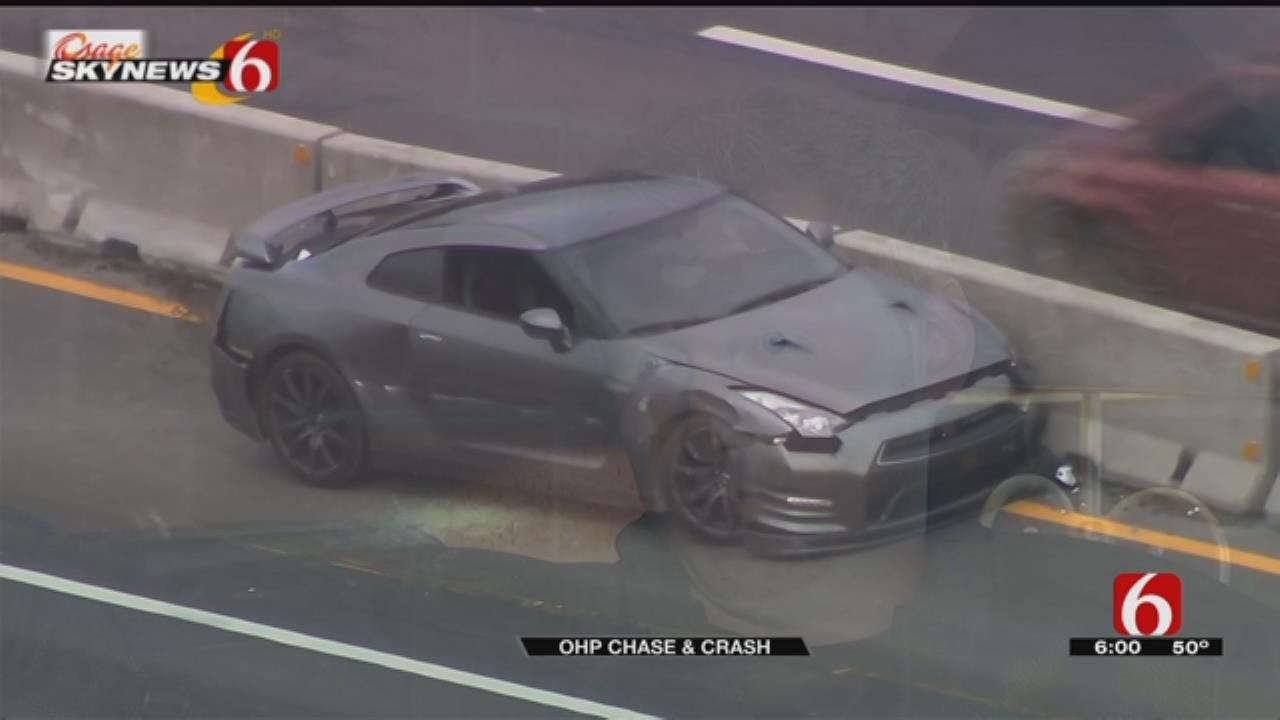 Oklahoma Man Learns Stolen Car Was Involved In OHP Chase