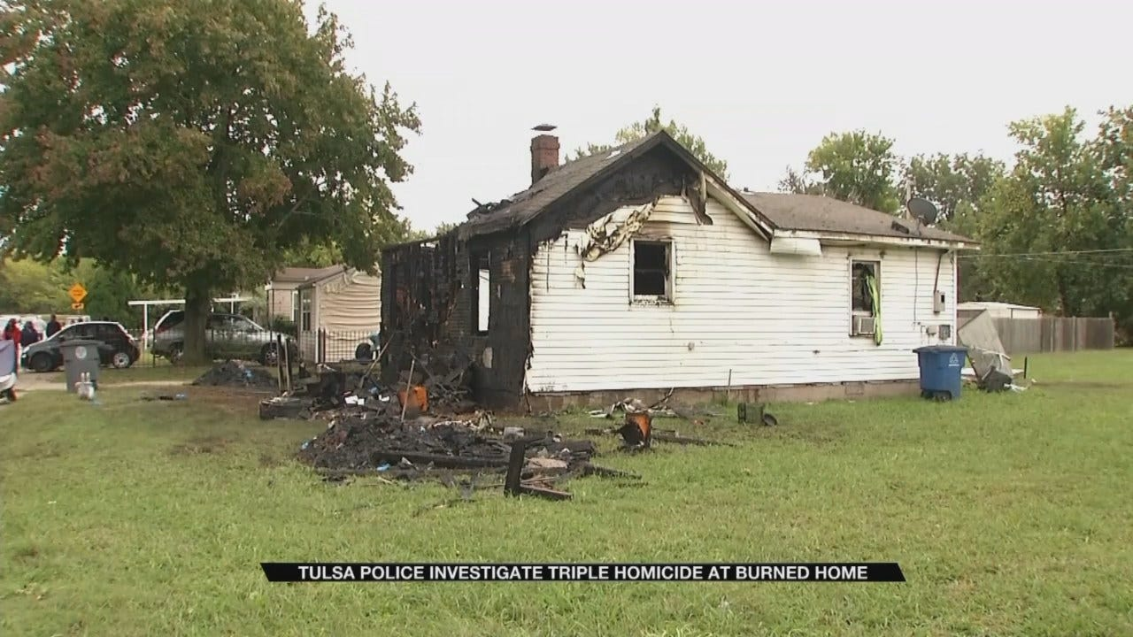 Three People Found Dead Inside Burning Home, Tulsa Firefighters Say