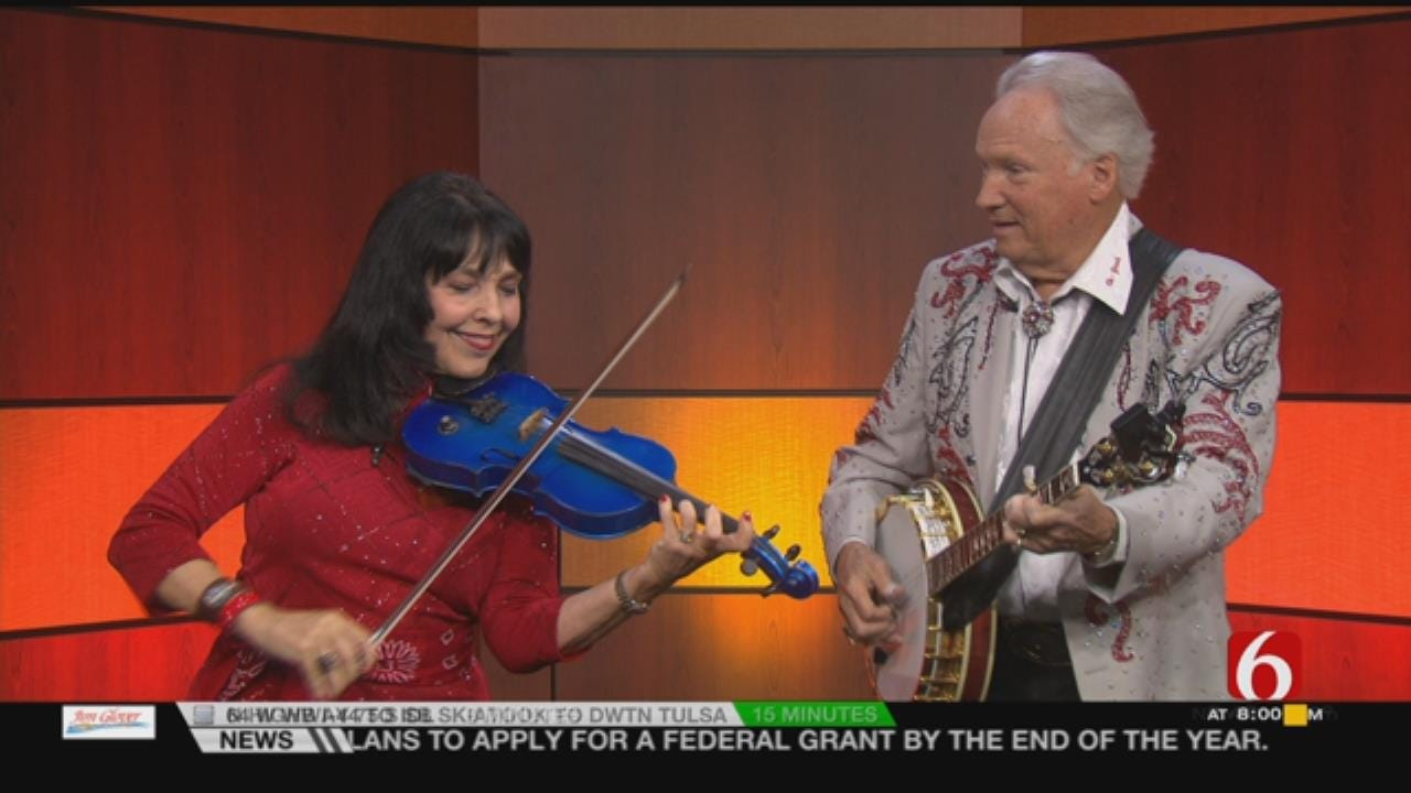 Hee Haw Stars Jana Jae, Buck Trent Visit 6 In The Morning