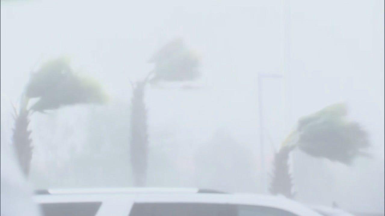WEB EXTRA: Video Out Of Florida As Hurricane Michael Make Landfall