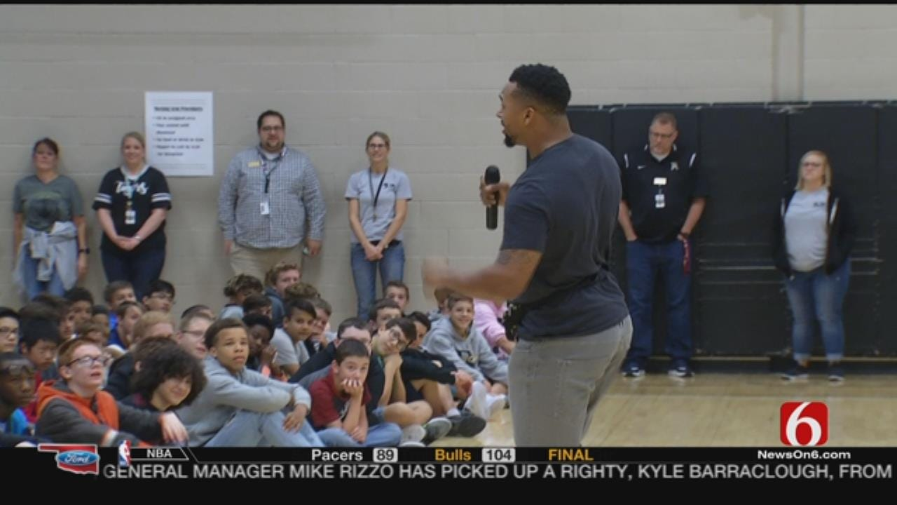 Former NFL Player Shamiel Gary Says He's Found His True Calling