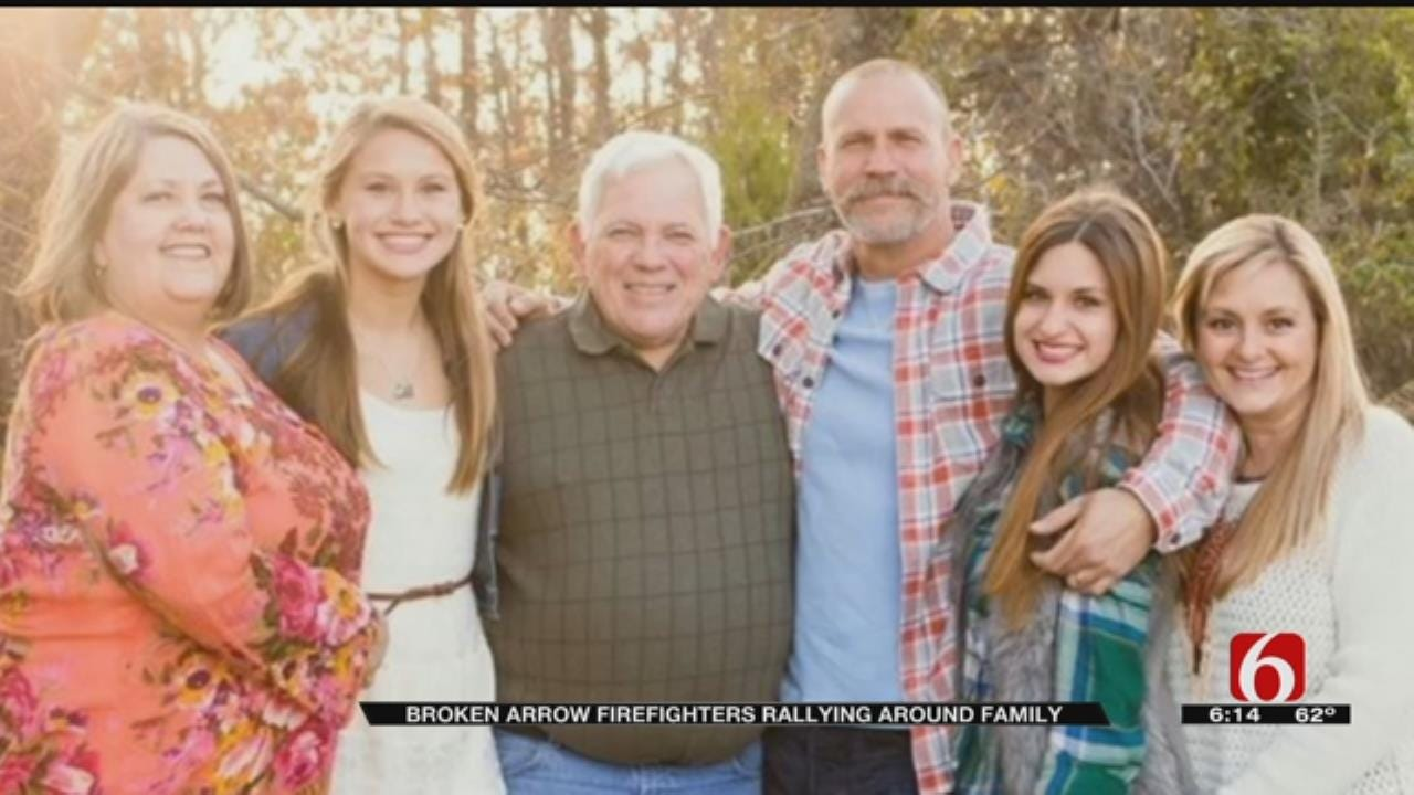 Broken Arrow Community Rallies Around Firefighter's Family