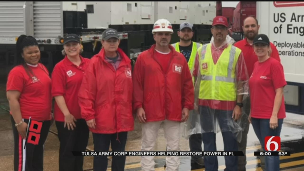 Tulsans Travel South To Help In Wake Of Hurricane Michael