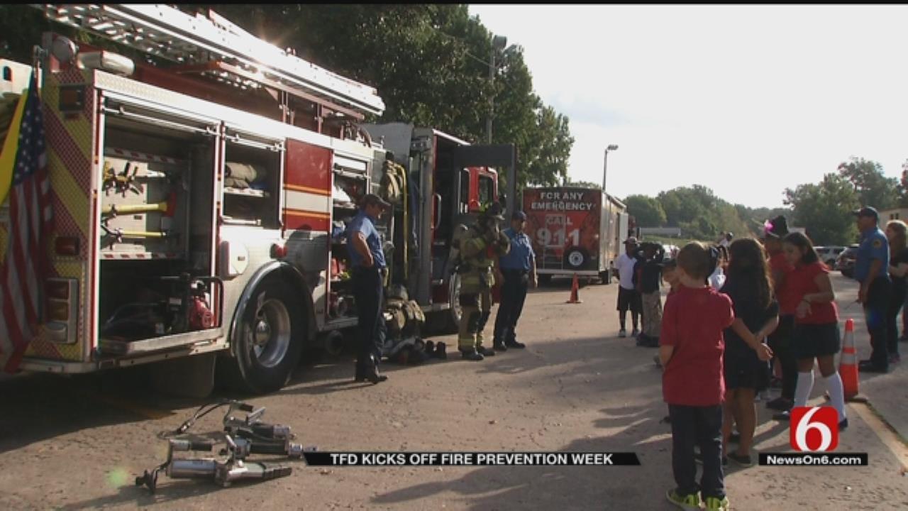 Tulsa Fire Department Kicks Off Fire Prevention Week