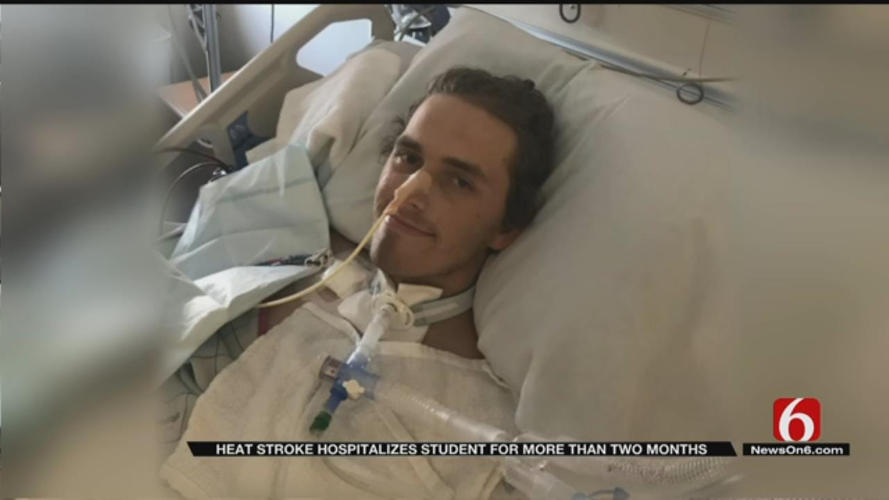Heat Stroke Lands Tulsa Athlete In Hospital For 43 Days