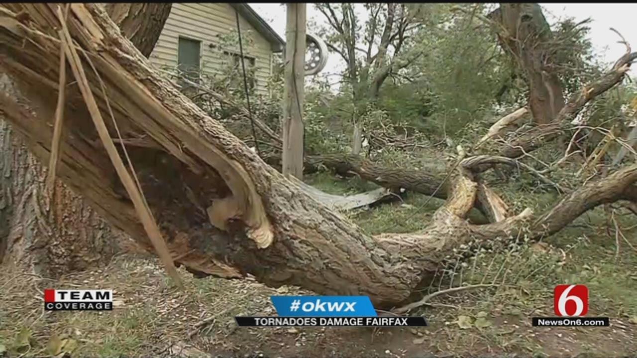 Tornado Damages Fairfax Homes, Businesses