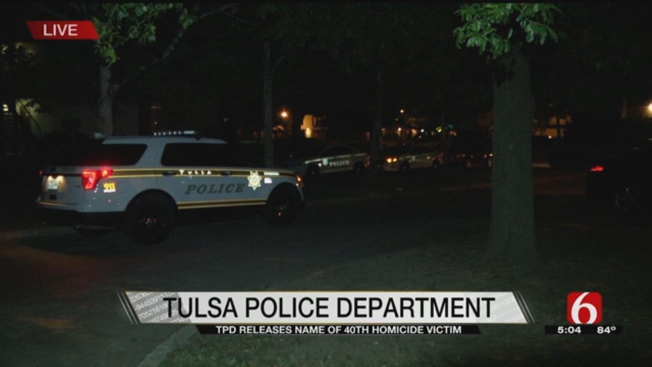 Police Identify Tulsa Homicide Victim