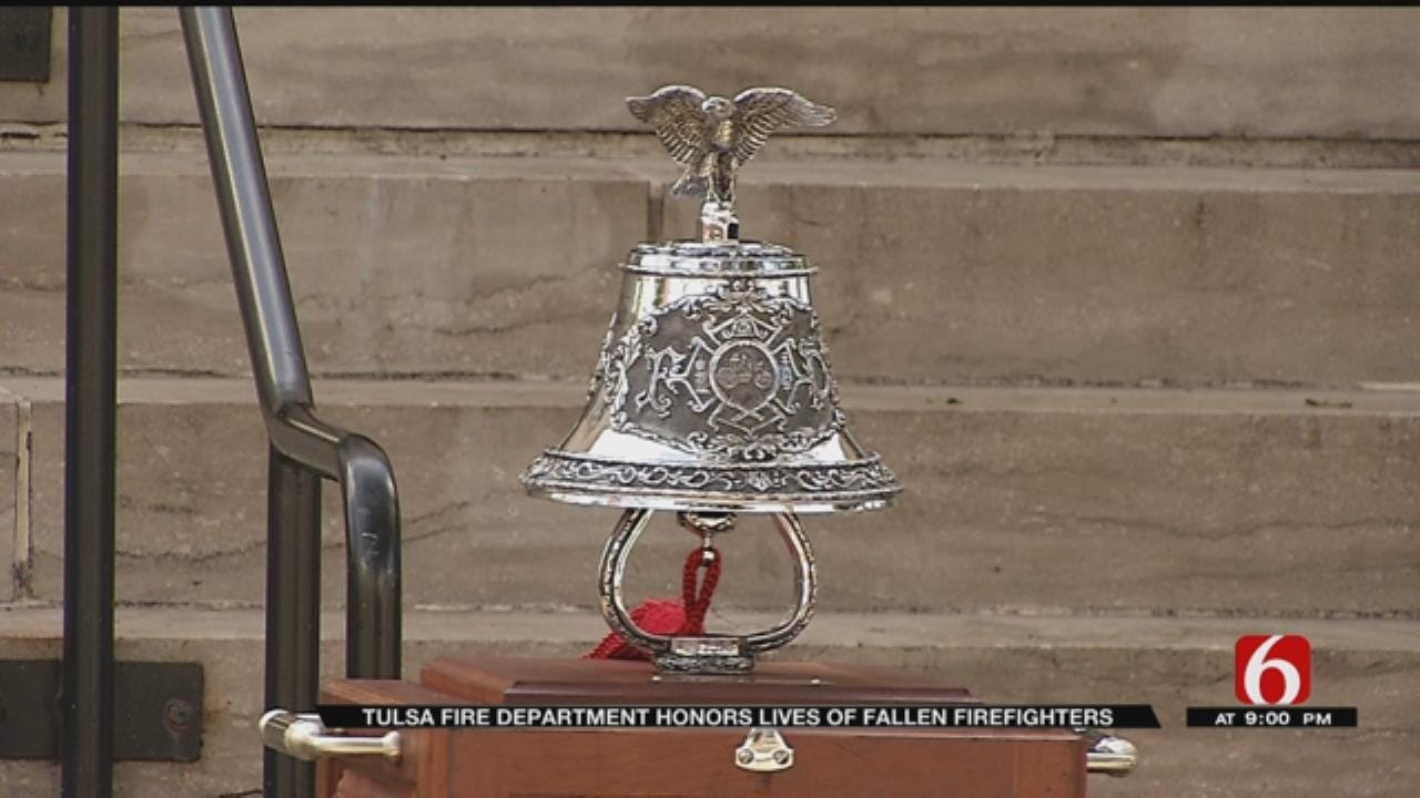 Tulsa Fire Department Holds Ceremony To Remember The Fallen