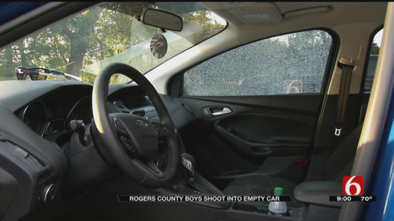 Rogers County Teens Caught Shooting At Vehicle On Social Media