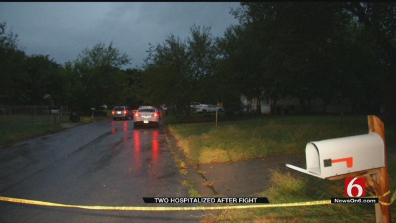 Police: Fight In Tulsa Neighborhood Sends Two To Hospital