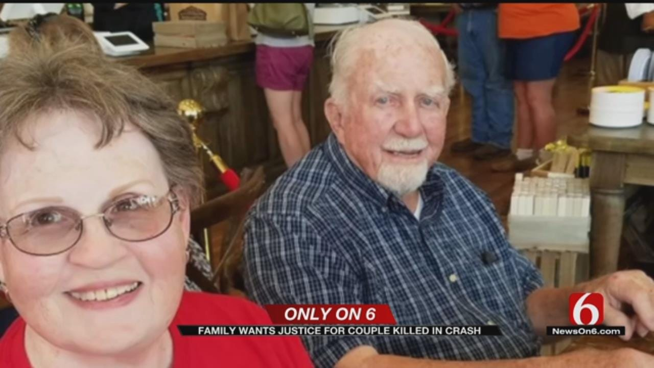 Arrest Warrant Issued For Driver Who Hit, Killed Elderly Tulsa Couple