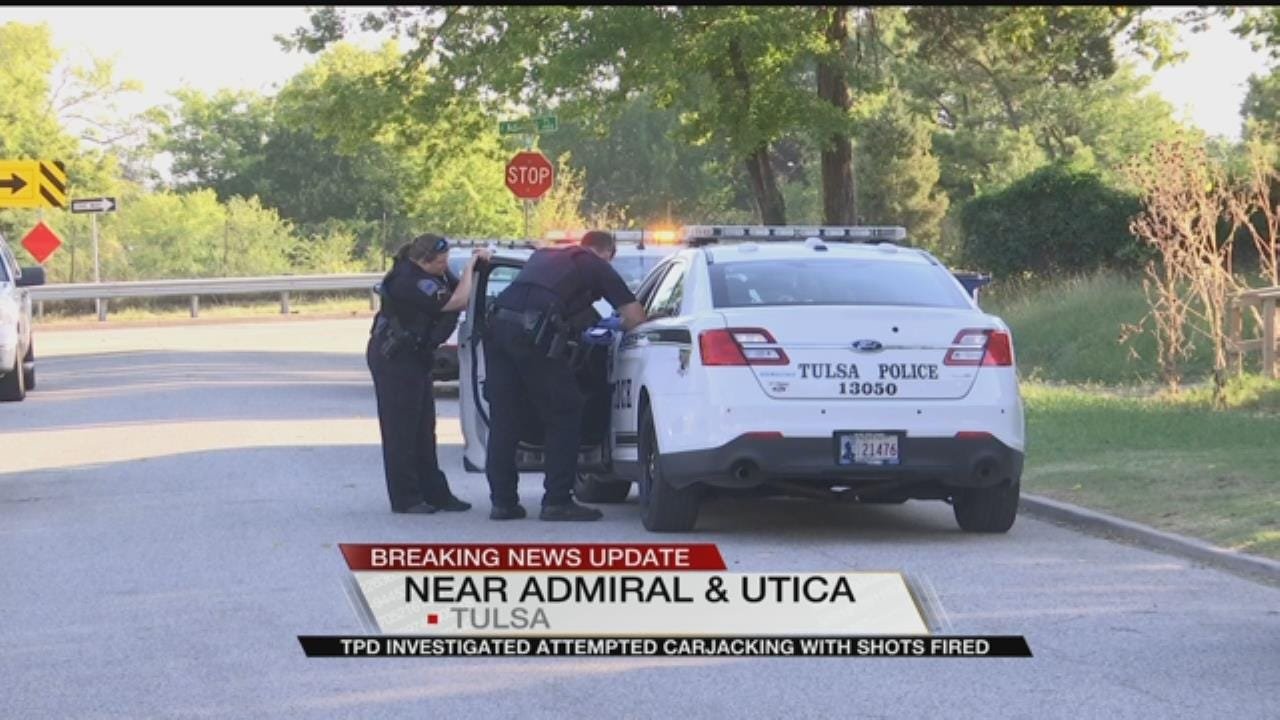 Tulsa Police Searching For Attempted Carjacker