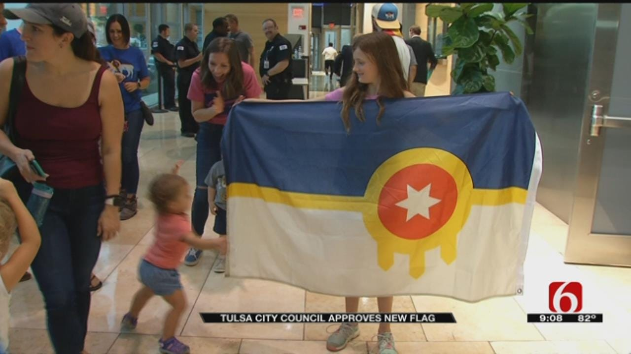 Tulsa City Council Unanimously Approves New City Flag
