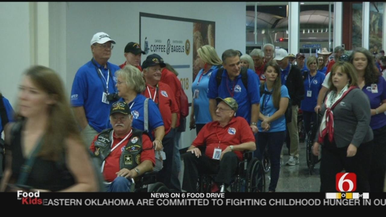 Oklahoma Military Veterans Taking Warriors Honor Flight To Washington D.C.