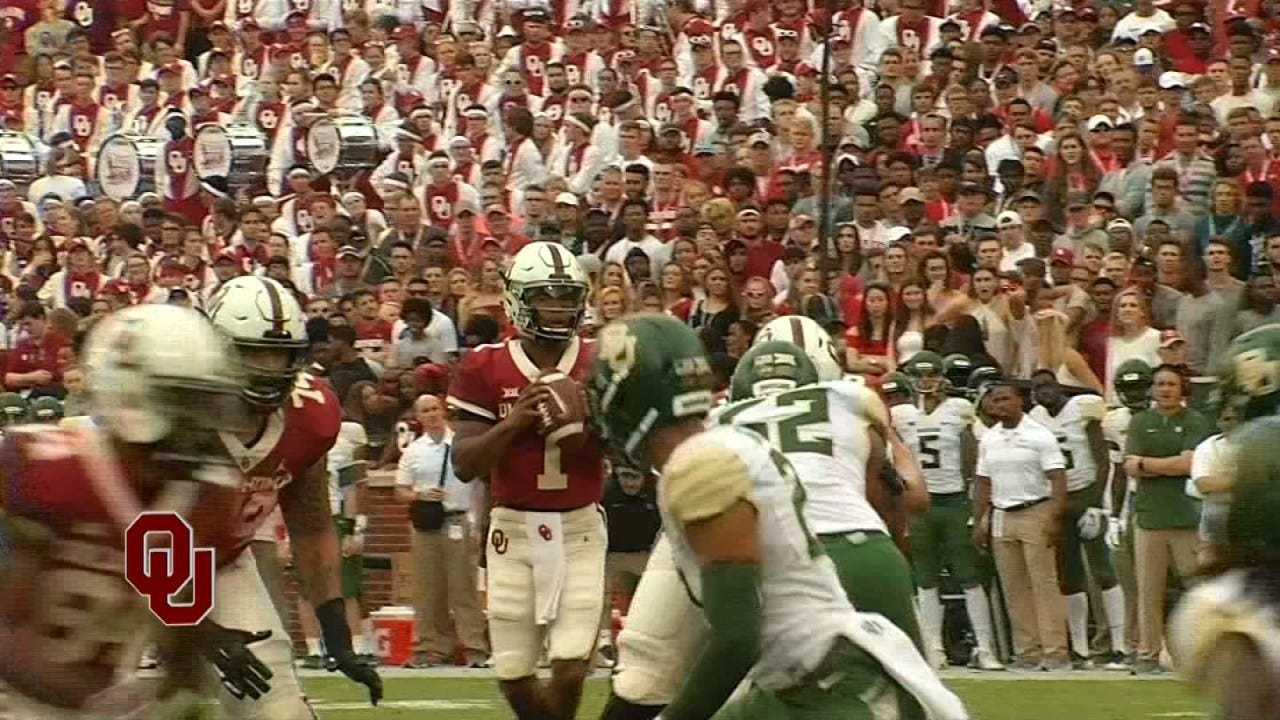 Sooners Gear Up For Battle With Texas