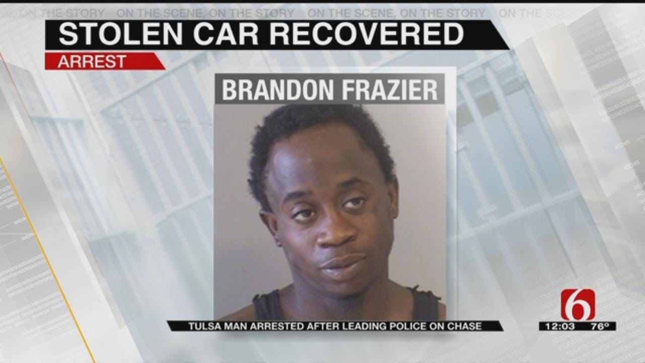 Police Pursuit Lands Tulsa Man Back In Jail Day After Release