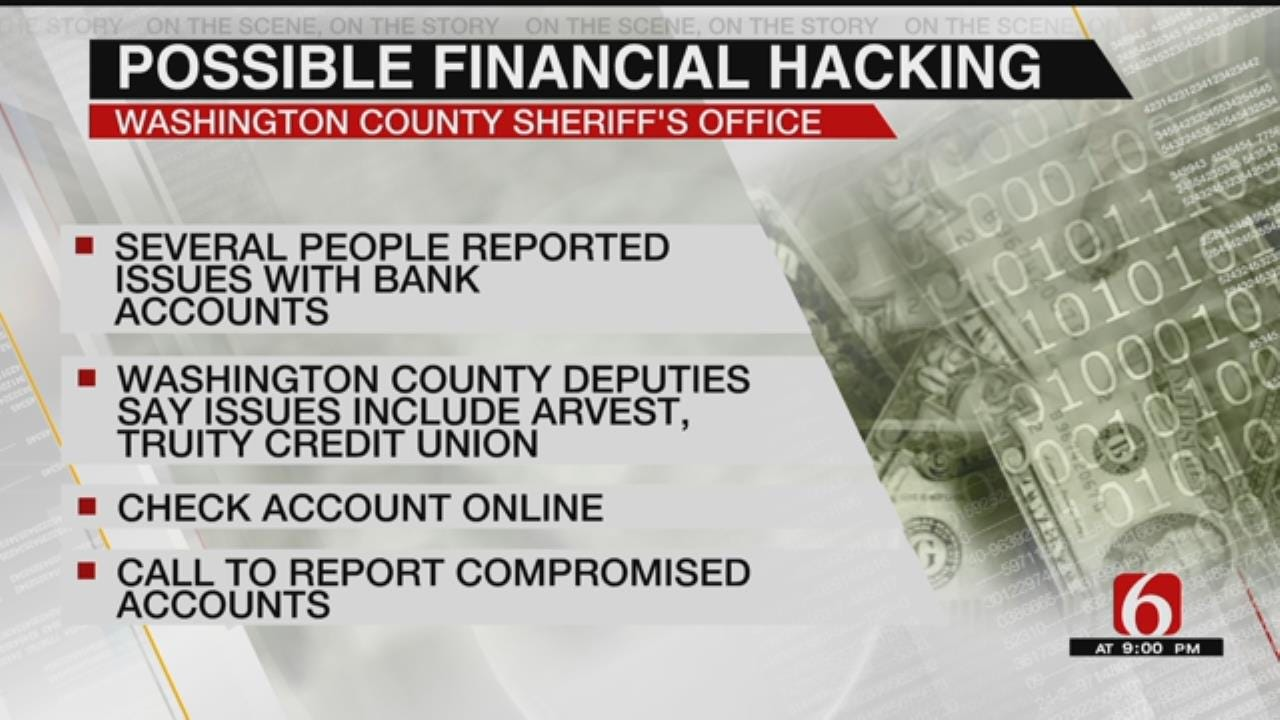 Washington County Sheriff's Office Investigating Credit Card Data Compromise
