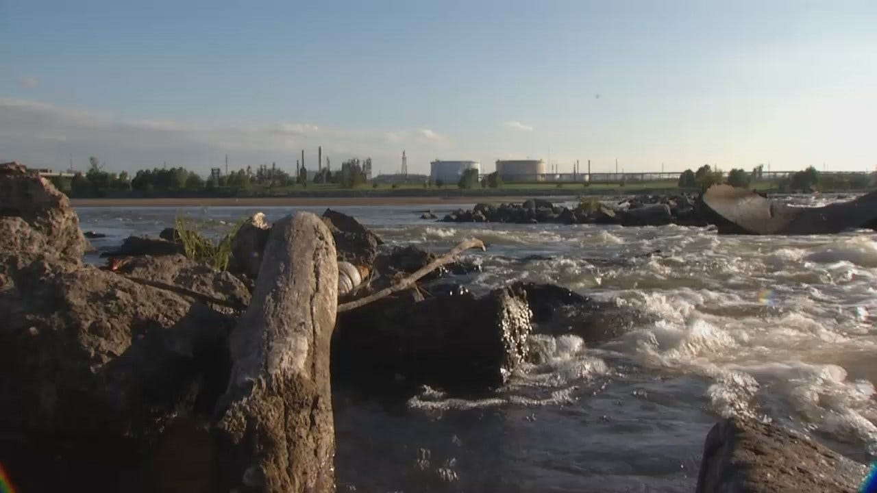 Body Discovered In Arkansas River, TPD Investigating