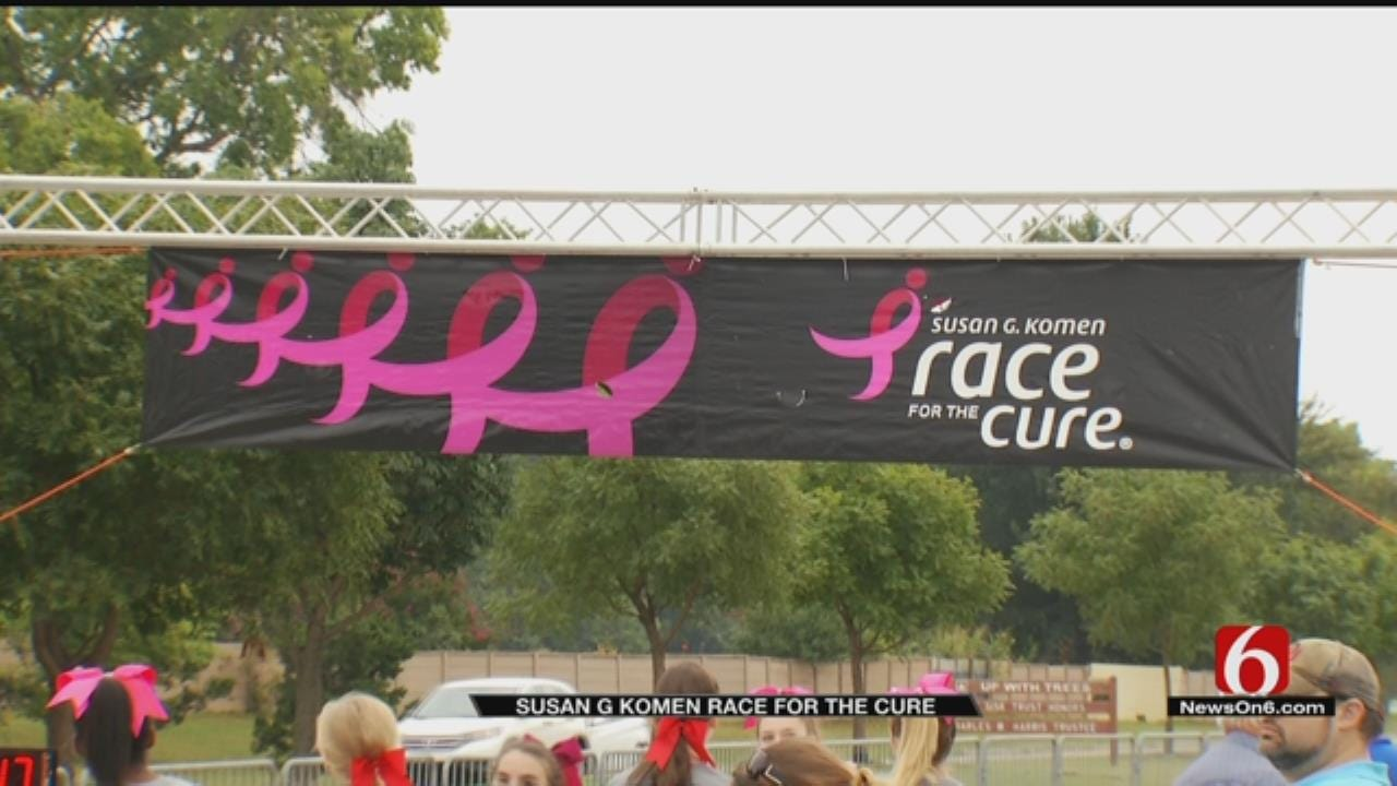 Thousand Turn Out For Tulsa's Komen Race For The Cure
