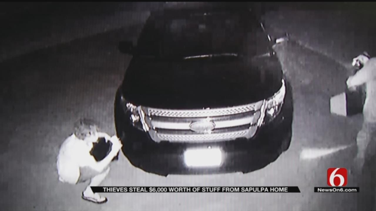Sapulpa Man Said Thieves 'Stole My Peace Of Mind Along With My Equipment'
