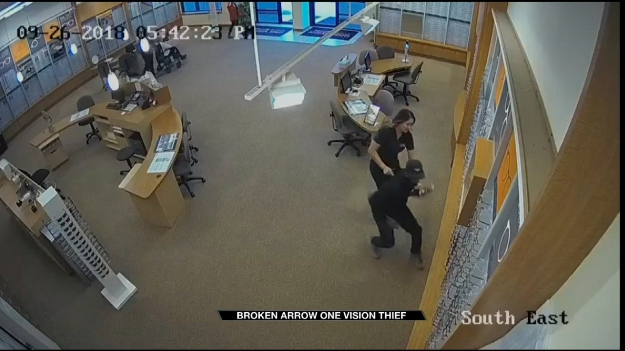 BA Eye Clinic Workers Seen In Video Trying To Stop Thief