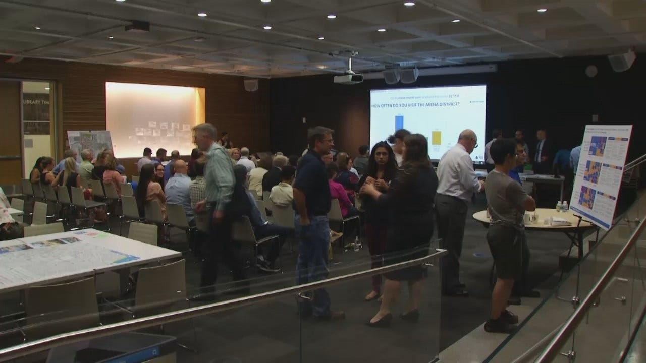WEB EXTRA: Video From A Previous Public Open House On The 'Arena District'