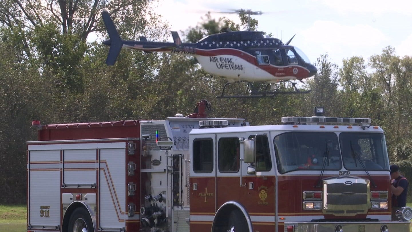 Bartlesville Area First Responders Train For Large-Scale Emergency