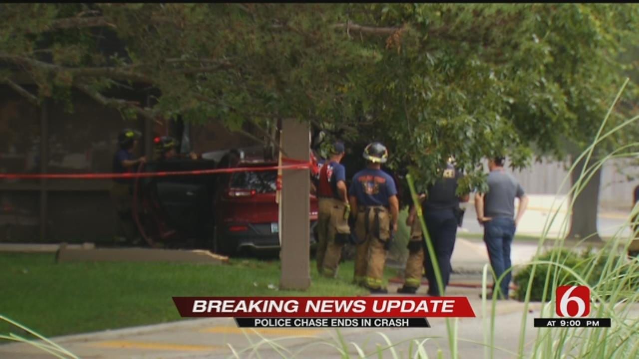 Two Teens In Custody After TPD Chase
