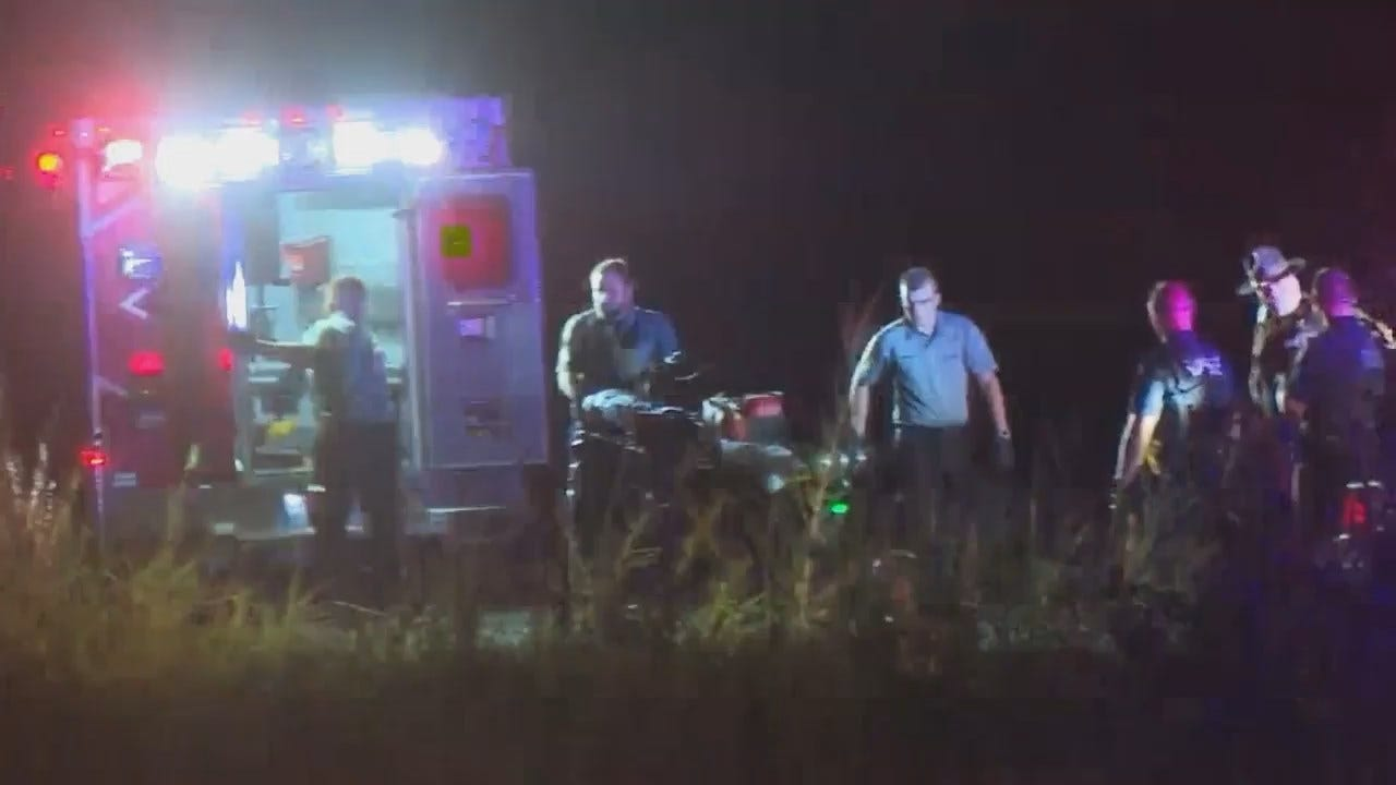 WEB EXTRA: Video From Scene At End Of Muskogee Police Chase