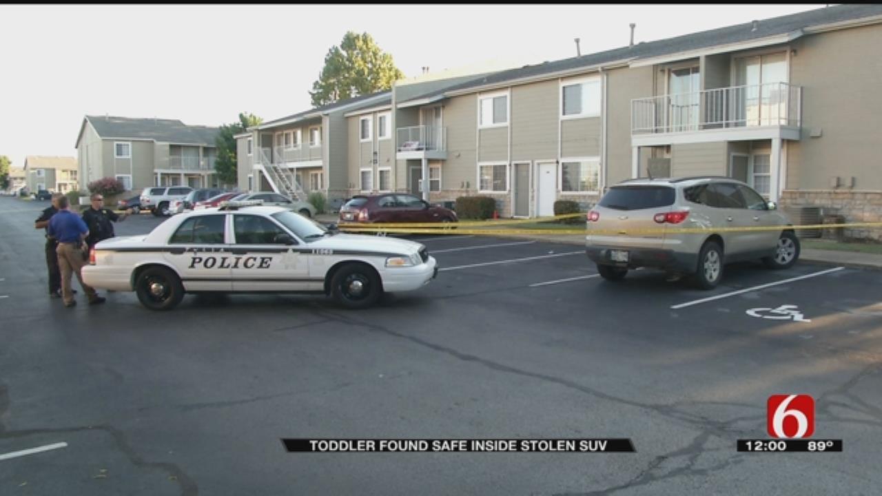Toddler Found Safe Inside Stolen SUV