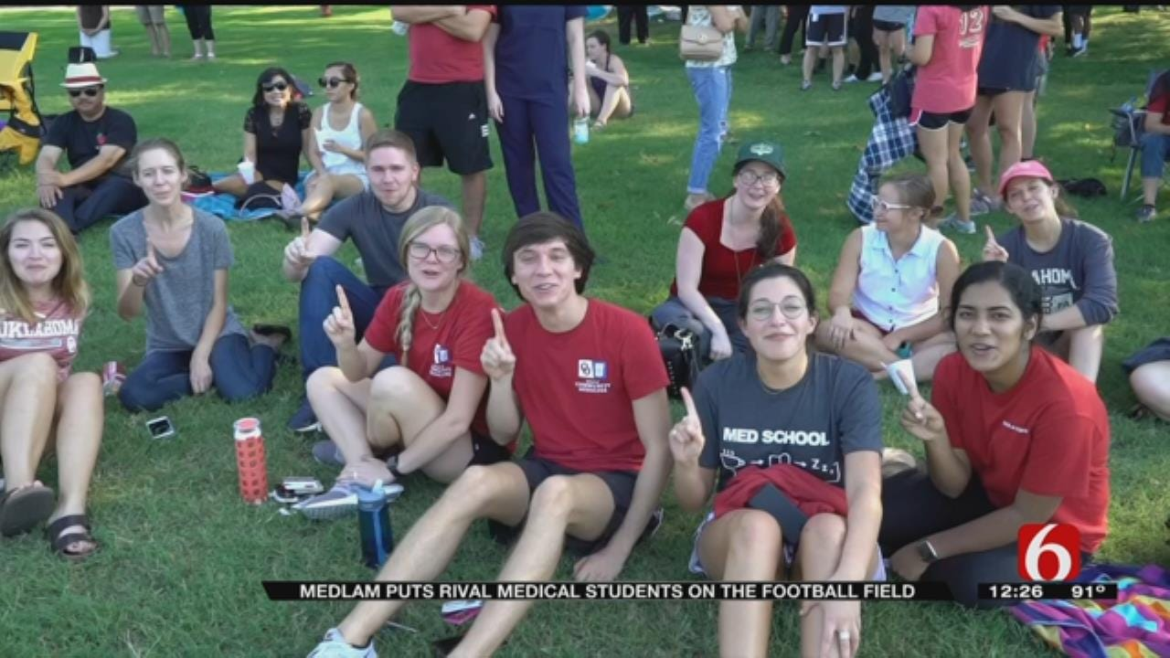 Medical Students In Tulsa Hold 1st Annual 'Medlam' Game