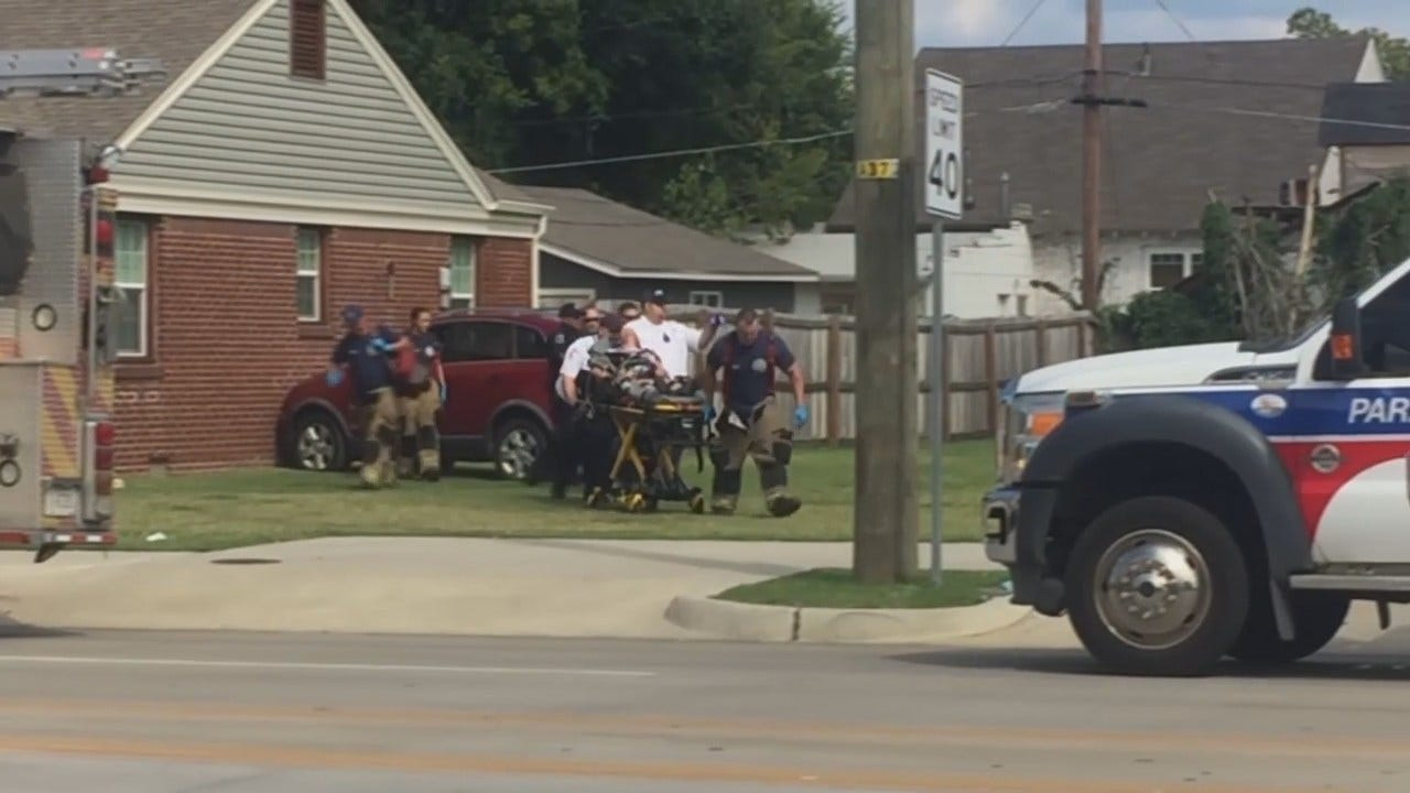 WEB EXTRA: Video From Tulsa Scene Of SUV Crash
