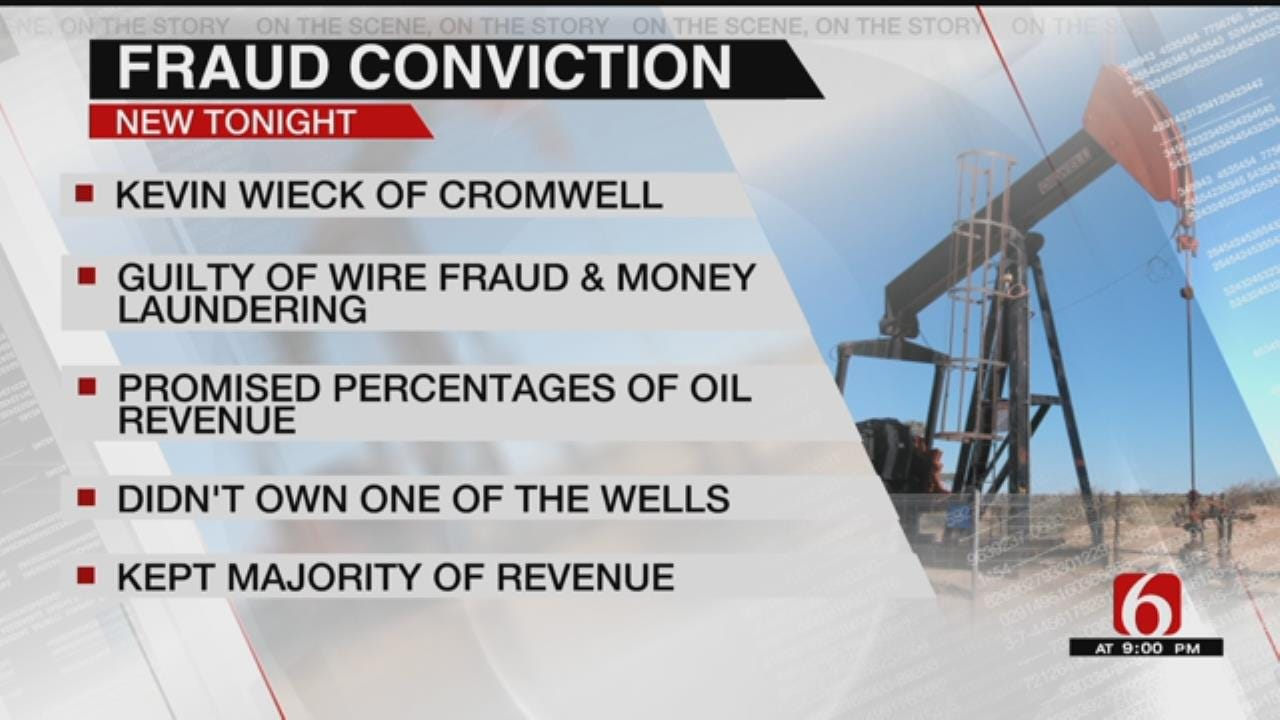 Oklahoma Oil Company Owner Guilty Of Fraud