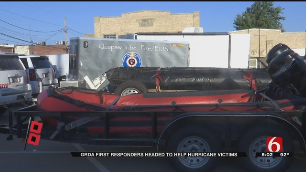 Mayes County First Responders Answer Call To Help Hurricane Victims