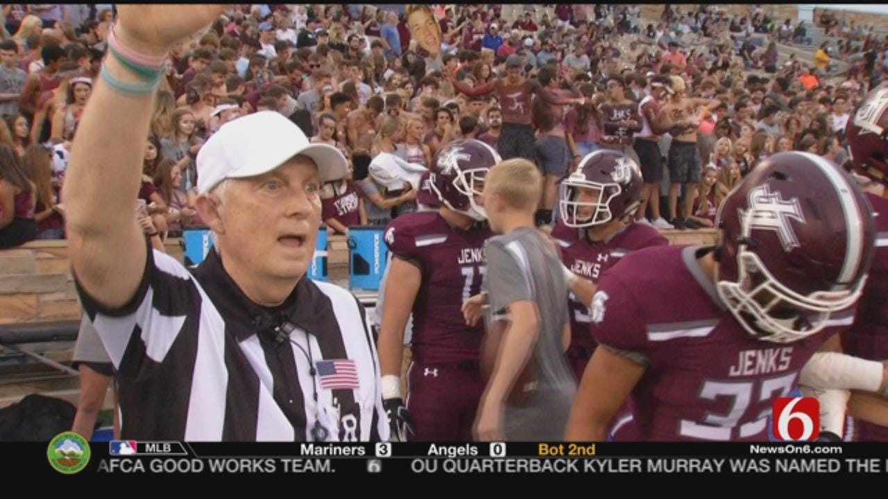 Referee Overcomes Life-Threatening Injuries To Return to Football