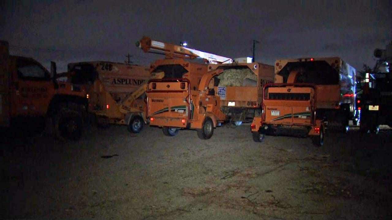 OK Asplundh Crews Going To Help As Hurricane Florence Approaches