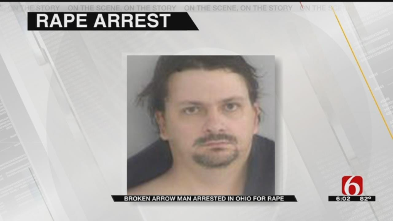 U.S. Marshals Arrest Broken Arrow Man In Ohio, Accused Of Child Sexual Abuse