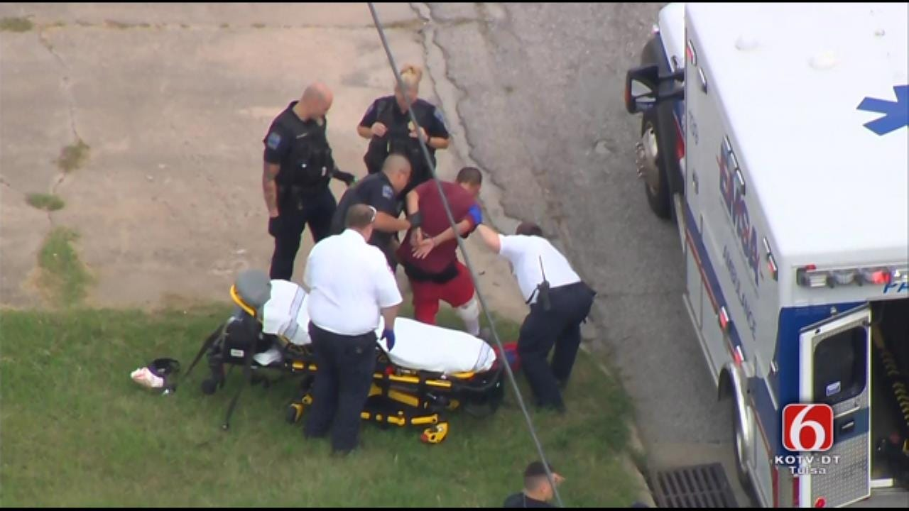 Osage SkyNews 6 HD: Chase Leads To Arrest Of Suspect In Tulsa Convenience Store Robbery