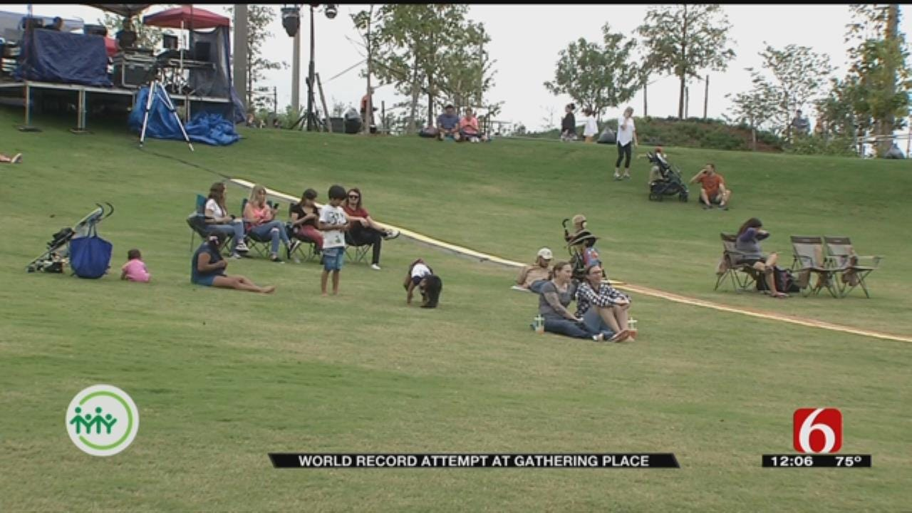 Gathering Place Attempts To Break World Record