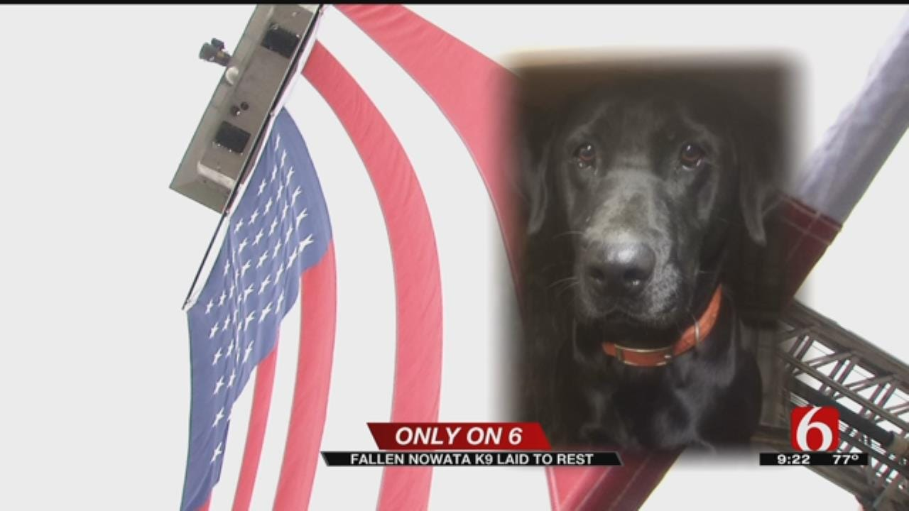 Funeral Held For Nowata K9 Officer Killed During Traffic Stop