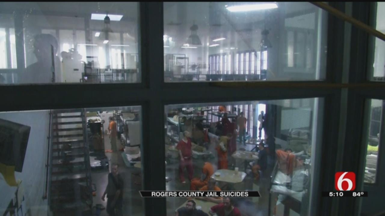 Rogers County Jail Stepping Up Efforts To Prevent Suicides
